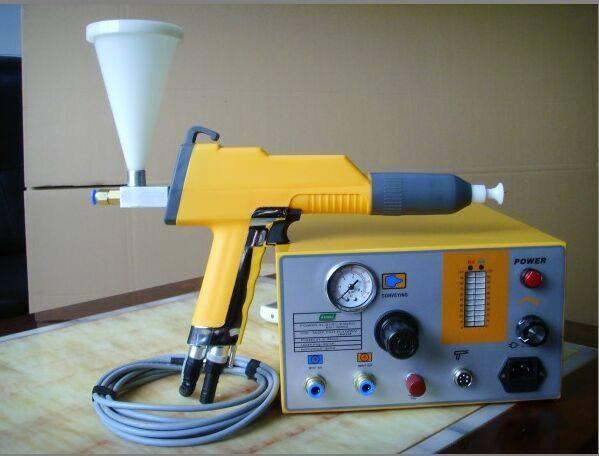 súng phun sơn tĩnh điện cho phòng thí nghiệm